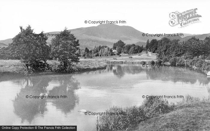 Photo of Callander, Ben Ladi And River Teith c.1935