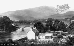 Callander, Bridge And Ben Ledi 1899