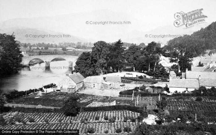 Photo of Callander, Bridge And Ben Ledi c.1900