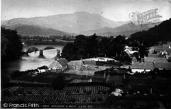 Callander, Bridge And Ben Ledi c.1900