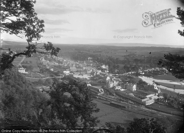 Photo of Callander, From The Crags c.1880