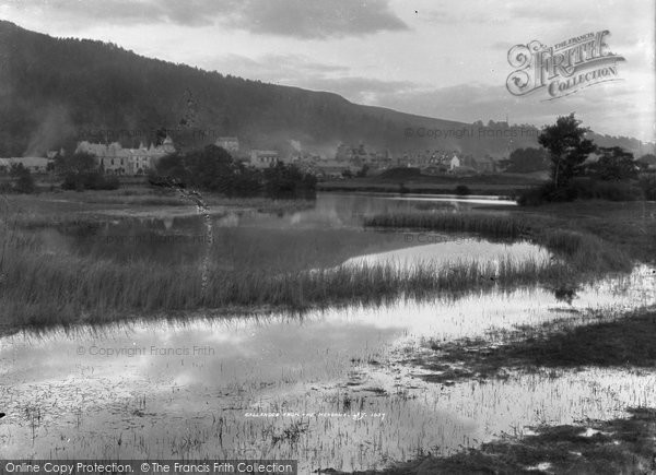 Photo of Callander, From The Meadows c.1880