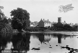 Callander, From The River Teith 1899