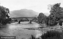 Callander, The Bridge And Trossachs 1899