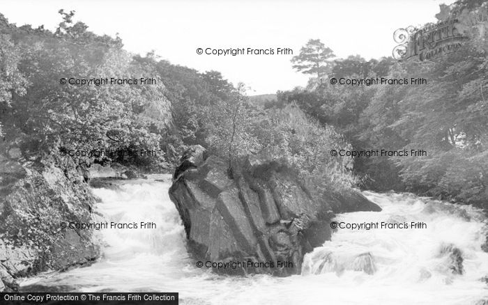 Photo of Callander, The Falls Of Leny c.1935