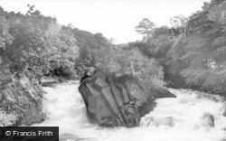 Callander, The Falls Of Leny c.1935