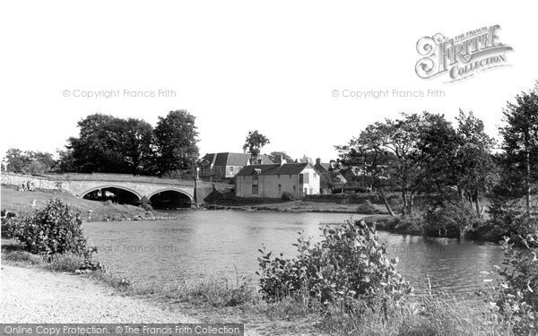 Photo of Callander, The River Teith And Bridge c.1960