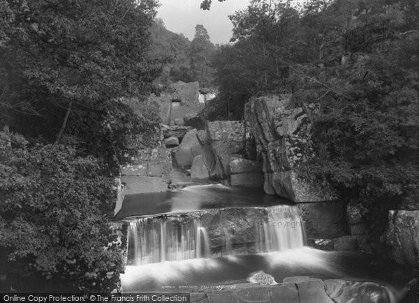 Photo of Callander, Upper Bracklin Falls c.1880