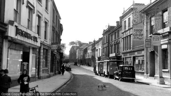 Callington, Fore Street c1950