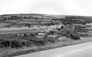 Callington, Kellybray and Kitt Hill c1955