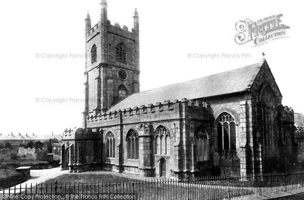 Callington, Church 1893