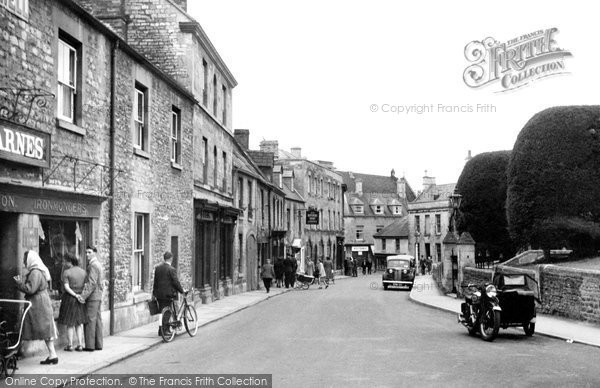 Photo of Calne, Church Street c.1955