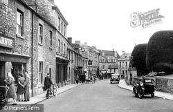 Calne, Church Street c.1955