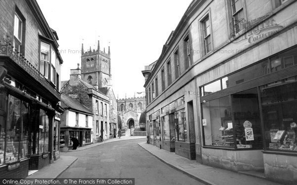 Photo of Calne, Church Street c.1960