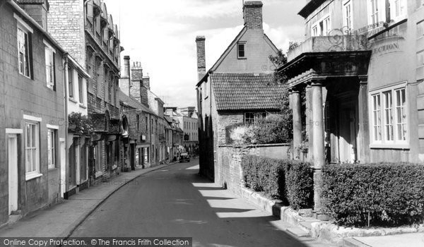 Photo of Calne, Church Street c.1960
