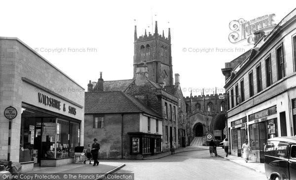 Photo of Calne, Church Street c.1965