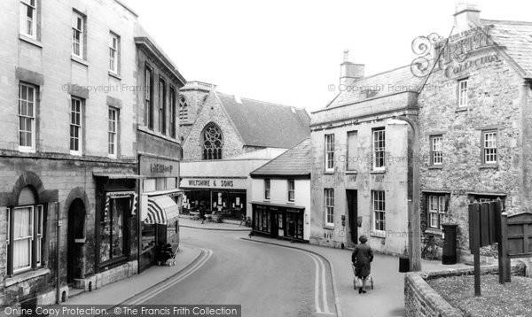 Photo of Calne, Church Street c1965