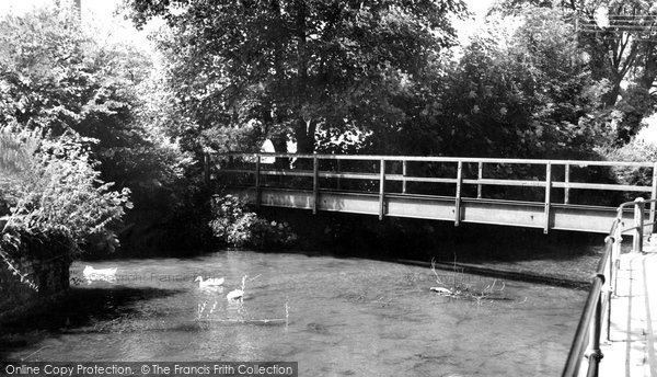Photo of Calne, Doctors Pond c1965