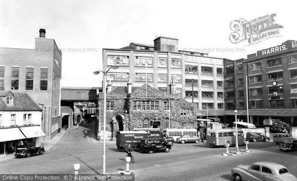 Photo of Calne, Harris's Factory c.1960