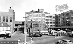 Calne, Harris's Factory c.1960