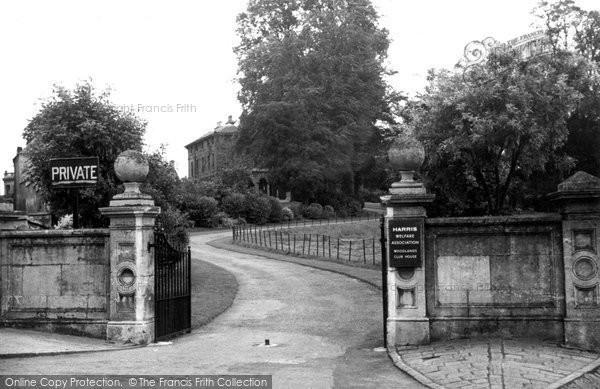 Photo of Calne, Harris Welfare Association Club House c.1950
