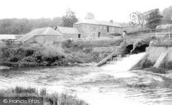 Calne, Hazeland Mill c.1970