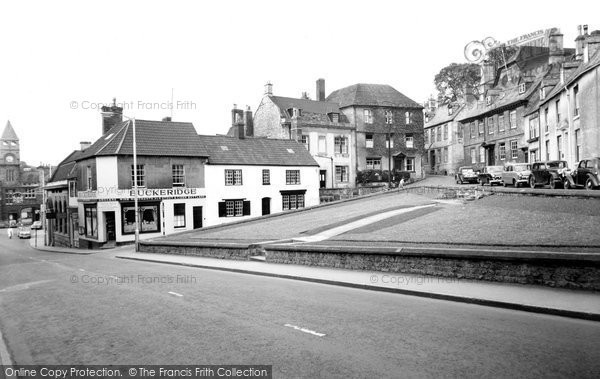 Photo of Calne, High Street And Market Hill c.1960
