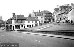 Calne, High Street And Market Hill c.1960