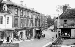 Calne, High Street c.1950