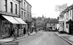 Calne, High Street c.1955