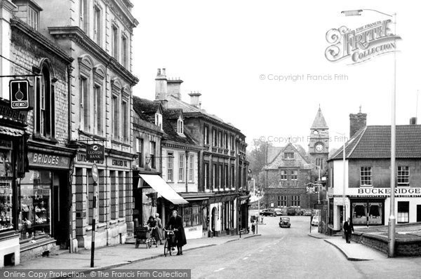 Photo of Calne, High Street c.1960