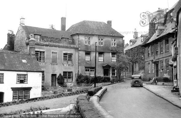 Photo of Calne, Market Hill c.1950