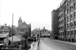 Calne, New Road c.1950