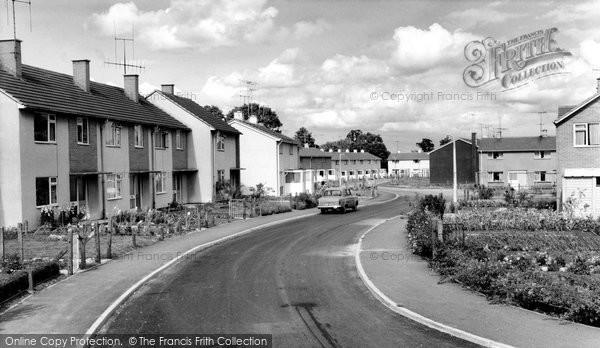 Photo of Calne, Newcroft Road c.1960