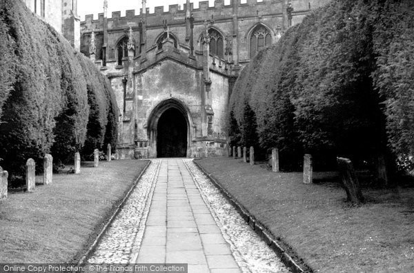 Photo of Calne, St Mary's Church c.1955