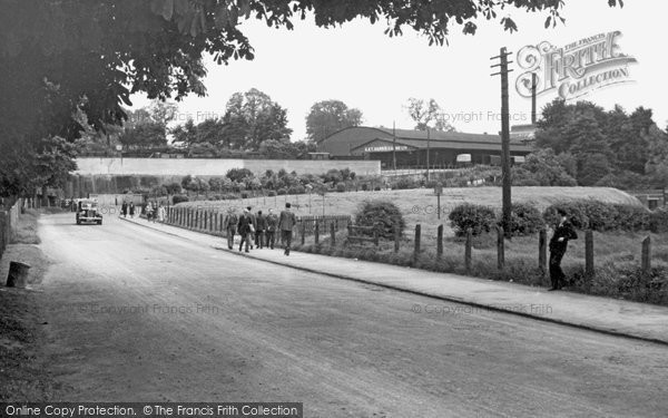 Photo of Calne, Station Road c1950