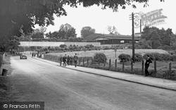 Calne, Station Road c.1950