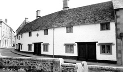 Calne, The Almshouses c.1960