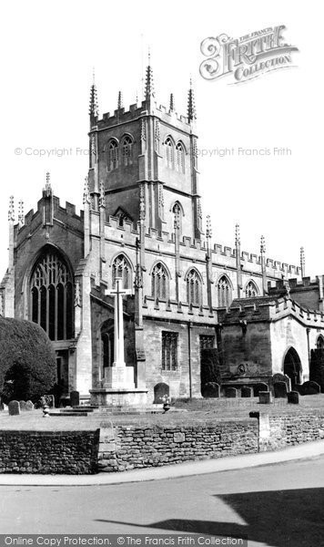 Calne, The Church Of St Mary c.1955