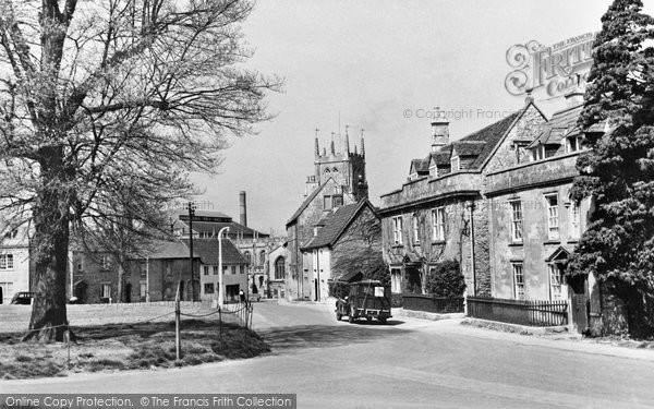 Photo of Calne, The Green 1957