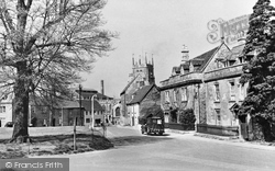 Calne, The Green 1957