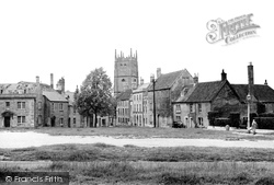 Calne, The Green c.1950