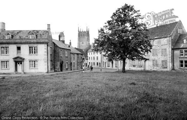 Photo of Calne, The Green c.1960