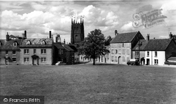 Calne, The Green c.1960