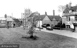 Calne, The Green c.1970