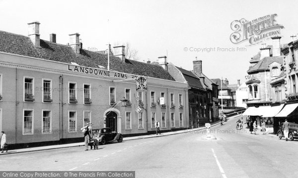 Photo of Calne, The Lansdowne Arms Hotel c.1955