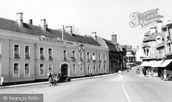 Calne, The Lansdowne Arms Hotel c.1955