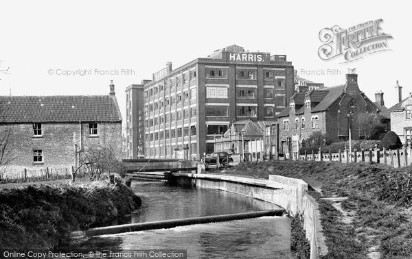 Photo of Calne, The River Marden And The Harris Bacon Factory c.1955