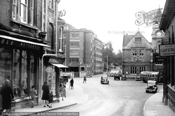 Photo of Calne, The Strand c.1955