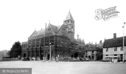 Calne, The Town Hall c.1955